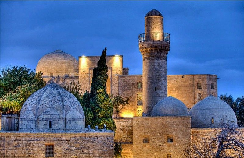 قصر الشروانشاهانيين فى باكو