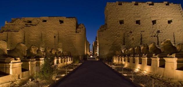 Temple de Karnak en Egypte