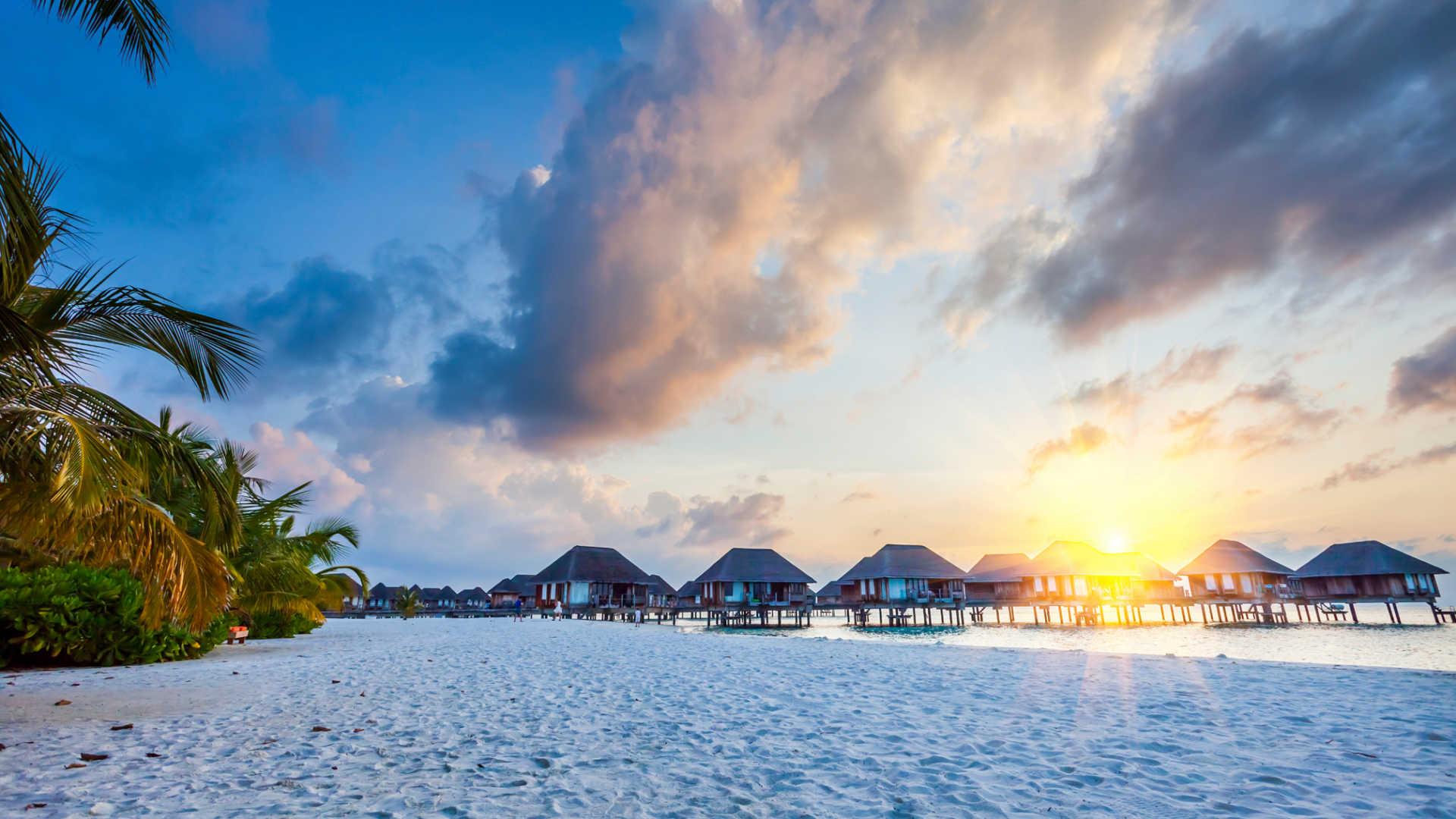 افضل الجزر لقضاء الشتاء في المالديف