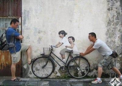 الأماكن-السياحية-في-جورج-تاون-شارع-بينانغ-للفنون
