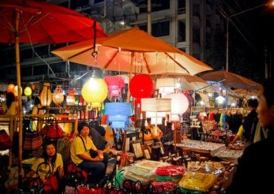 السوق الليلي في شنغماي