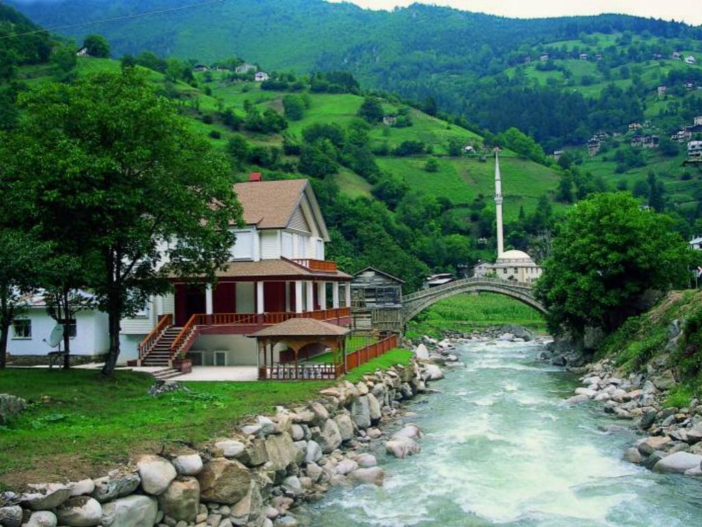 السياحة في اوزنجول طرابزون تركيا