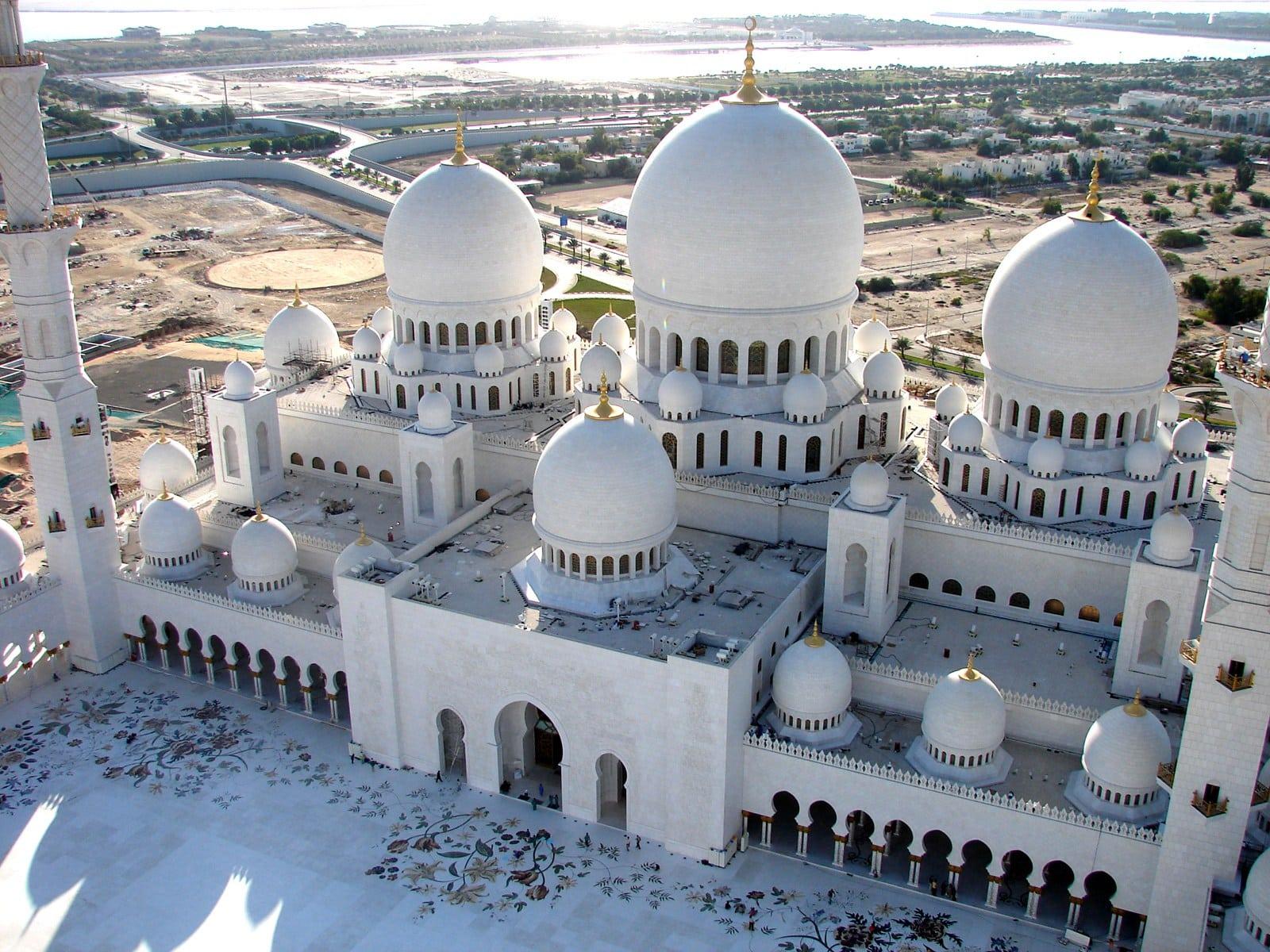 جامع الشيخ زايد  الكبير ابو ظبى