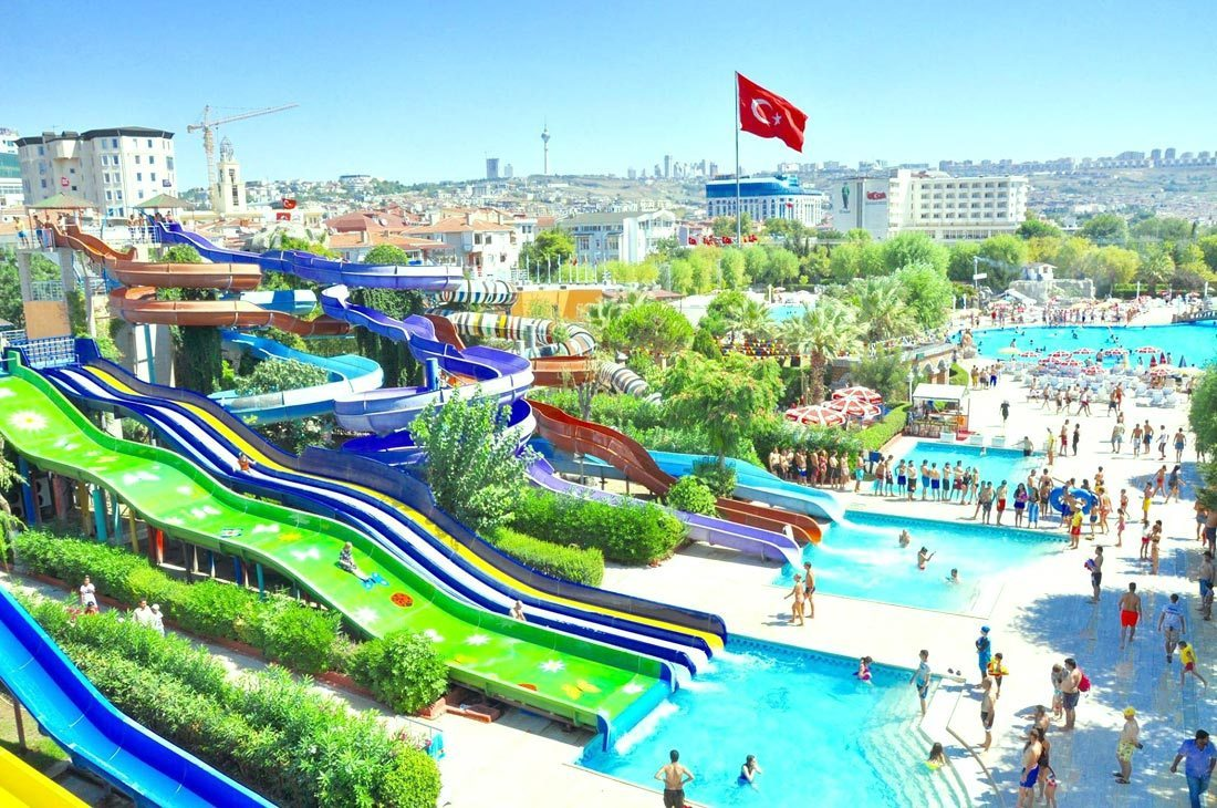 أفضل الانشطة في مدينة الالعاب فيالاند اسطنبول