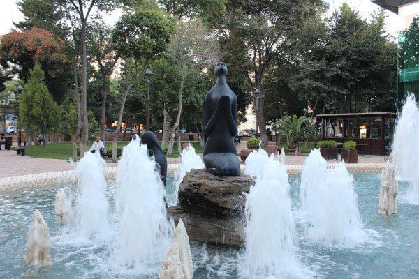 أجمل الحدائق فى باكو