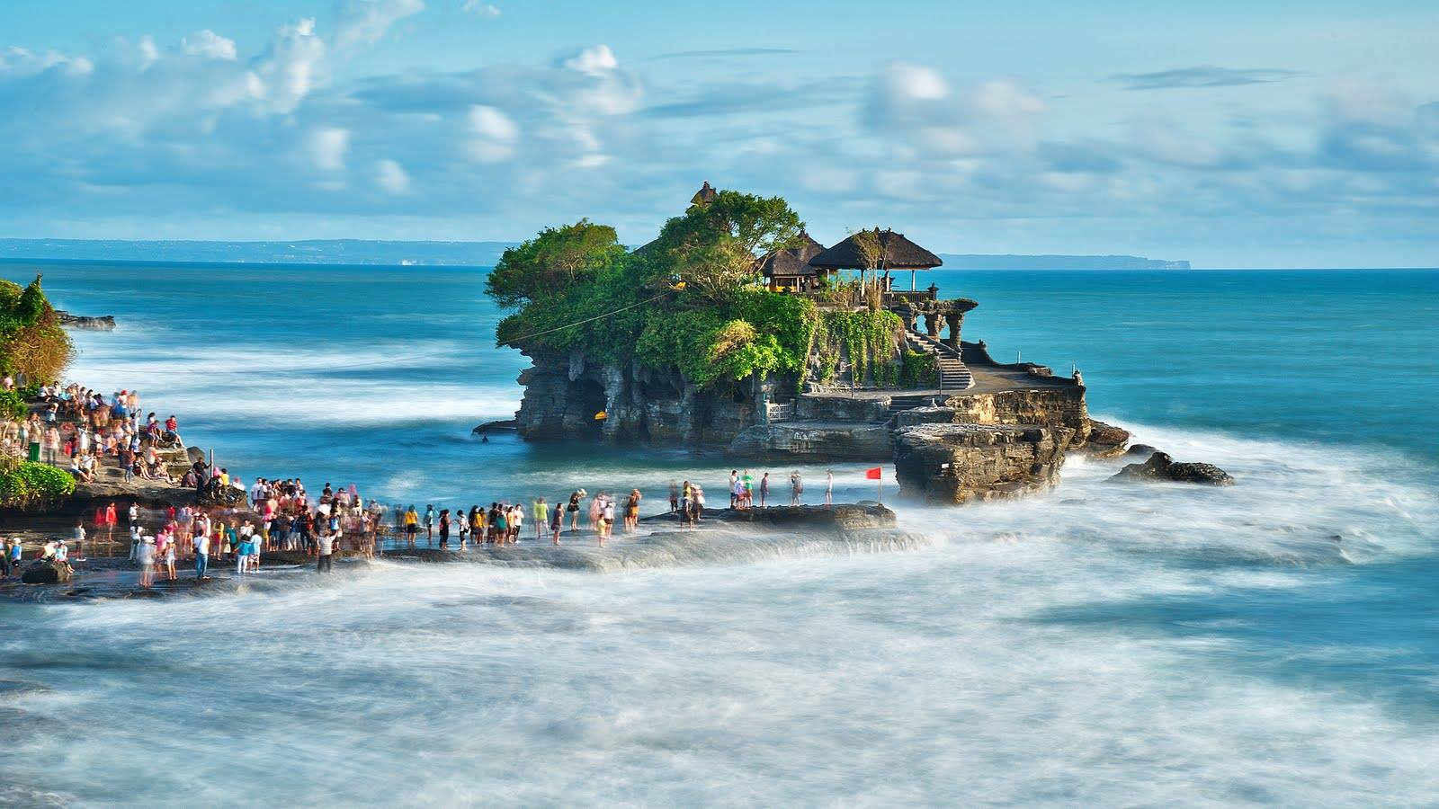 برنامج السياحة العائلية في بالي