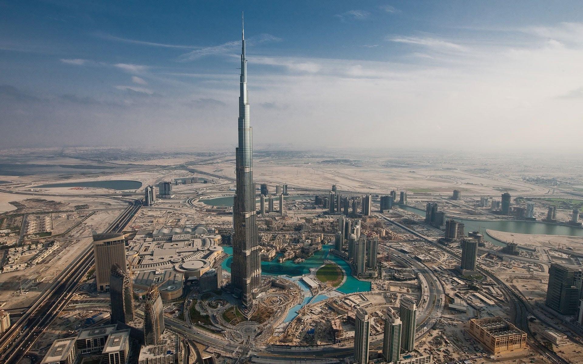 برج خليفة فى دبى
