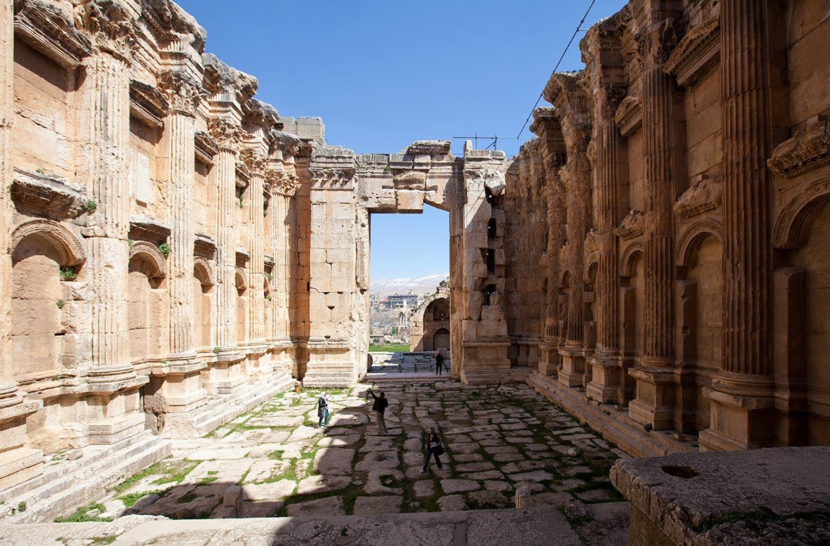 معبد جوبيتر بعلبك