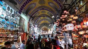 أنشطة في السوق المصري في أسطنبول
