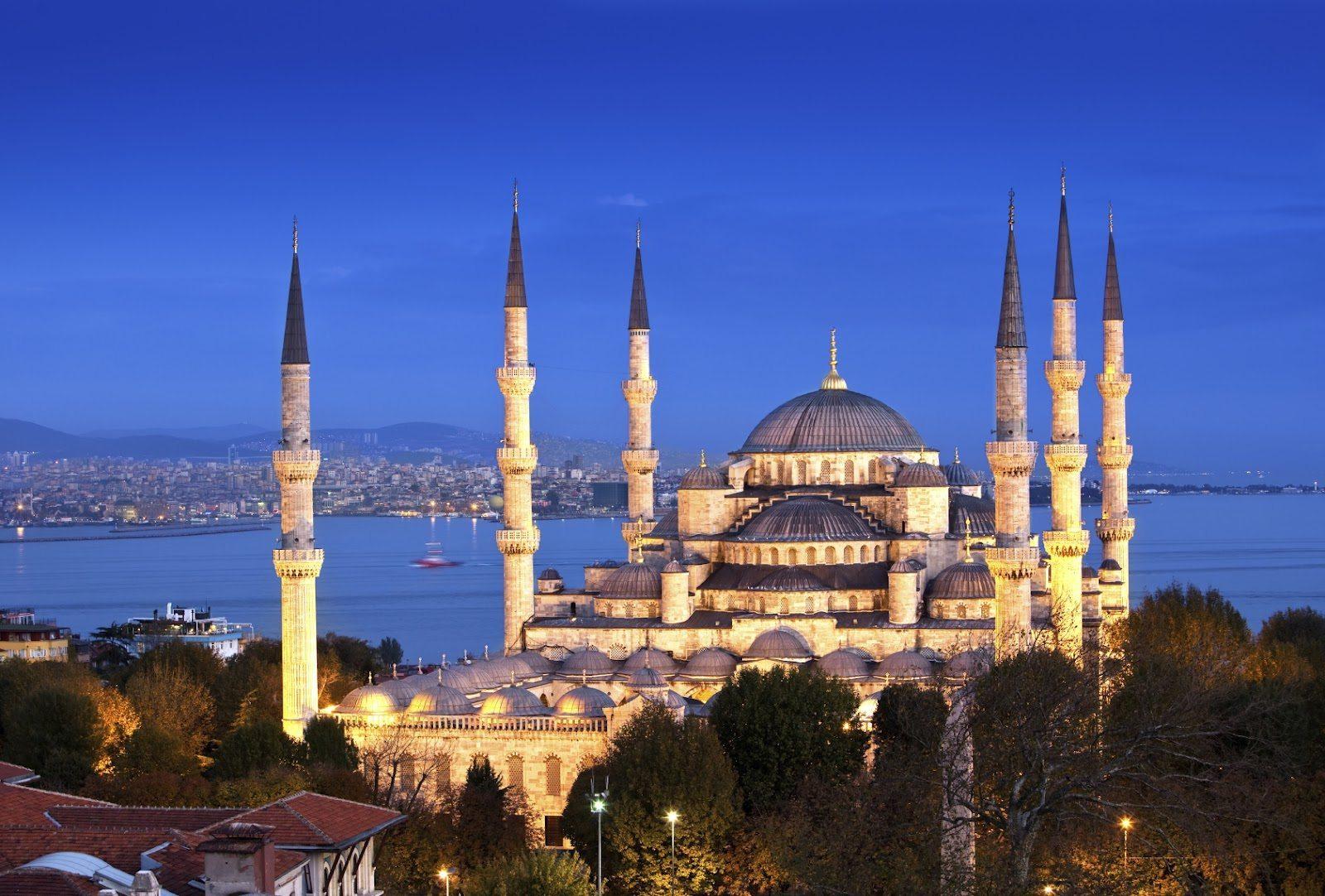 جامع السلطان أحمد في اسطنبول_1