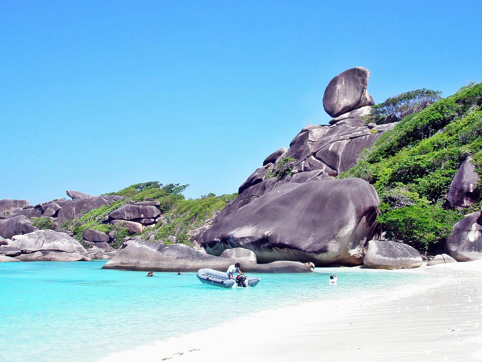 الجزر السياحيه في تايلاند