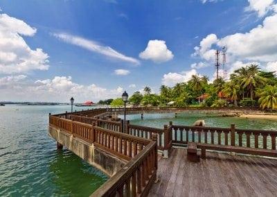 اهم الجزر في سنغافورة