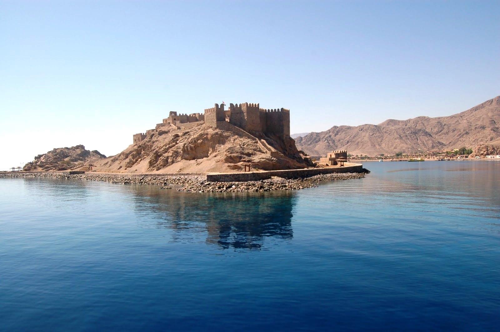 جزيرة فرعون وقلعة صلاح الدين
