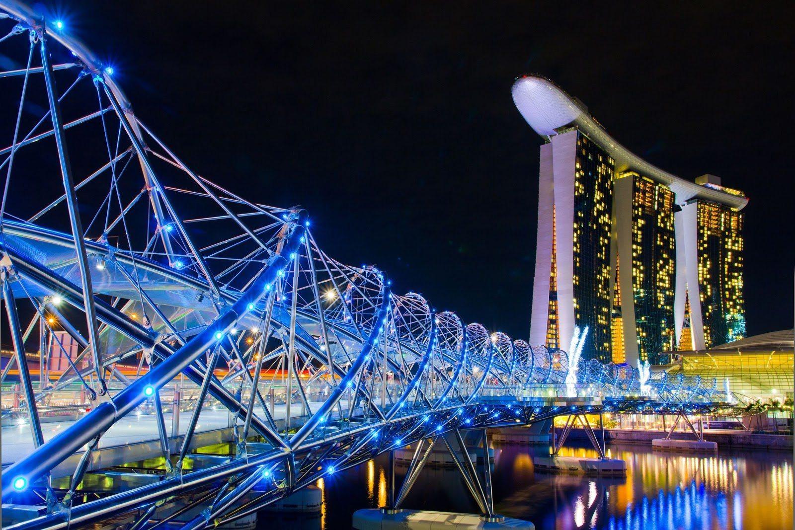 جسر-الحلزون