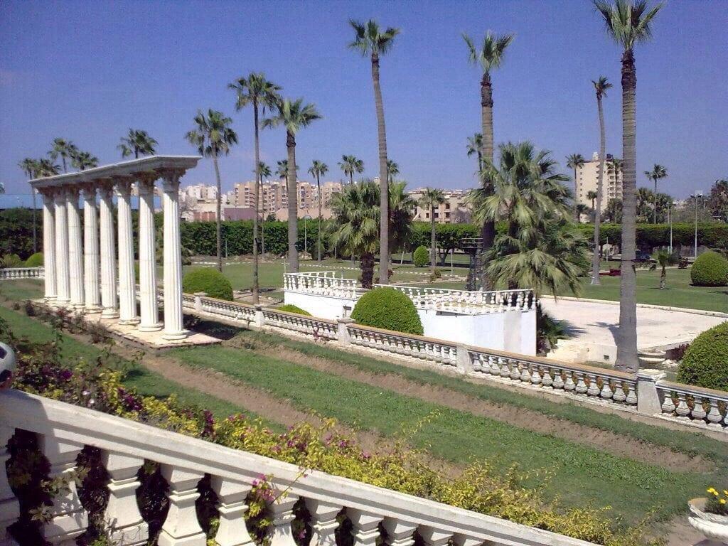 قصر انطونيادس الإسكندرية مصر