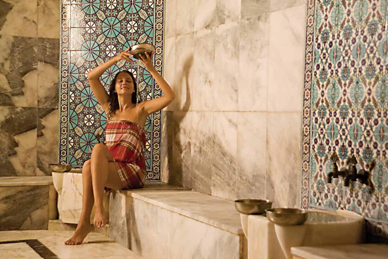 اشهر الحمامات بتركيا