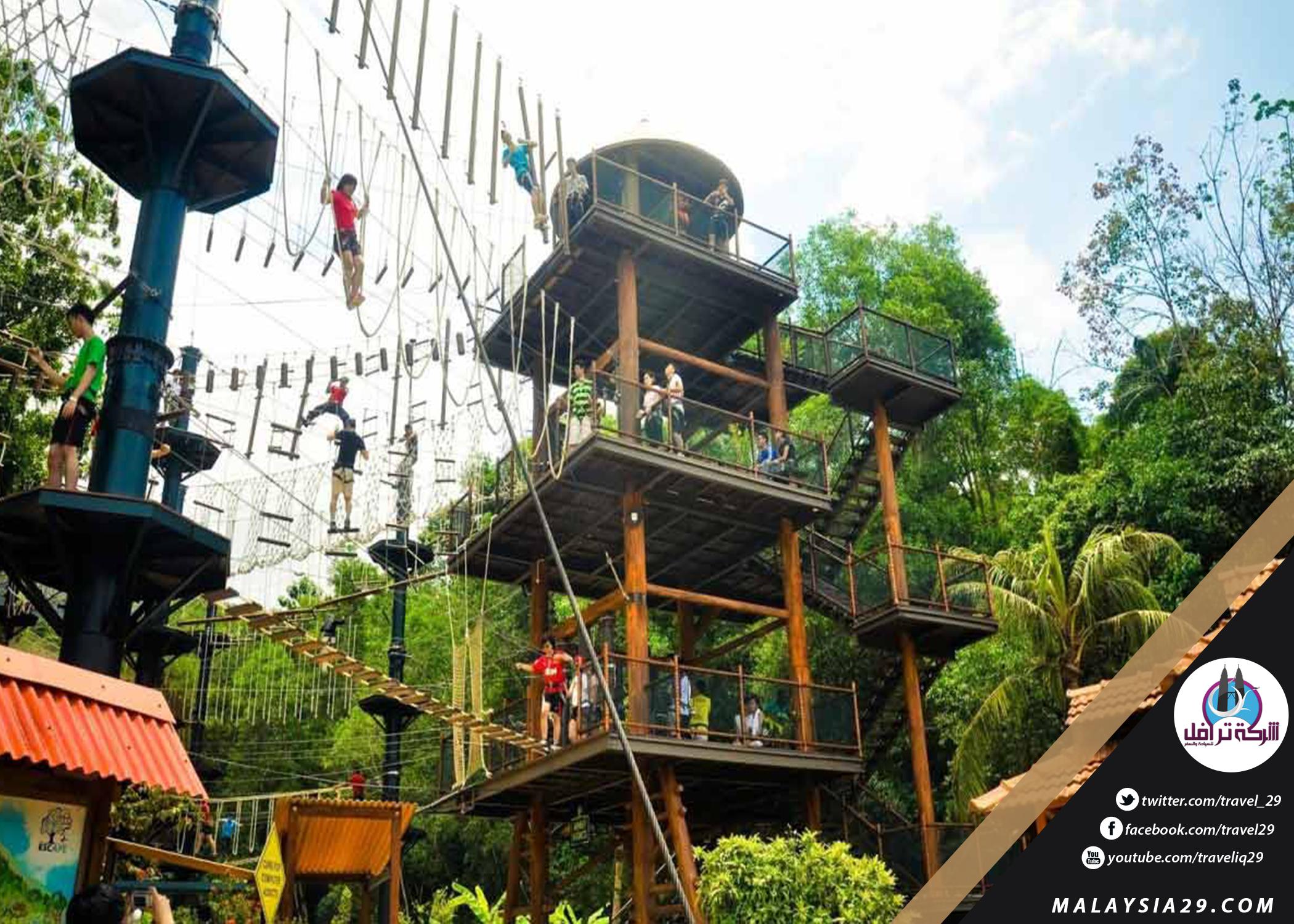 افضل 6 أنشطة في لعبة مغامرات الهروب بينانج ماليزيا