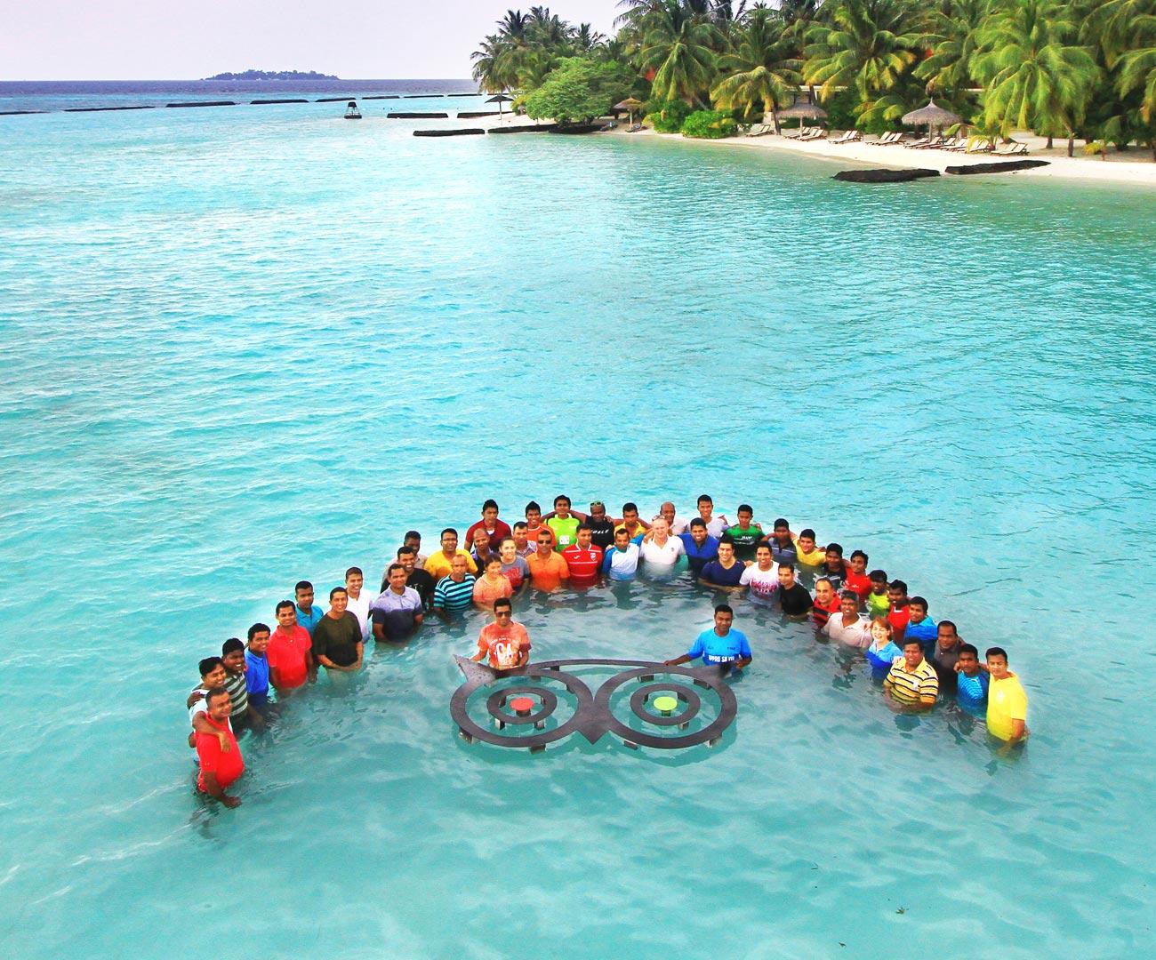 روعه السفر الي جزر المالديف مع الاطفال (1)