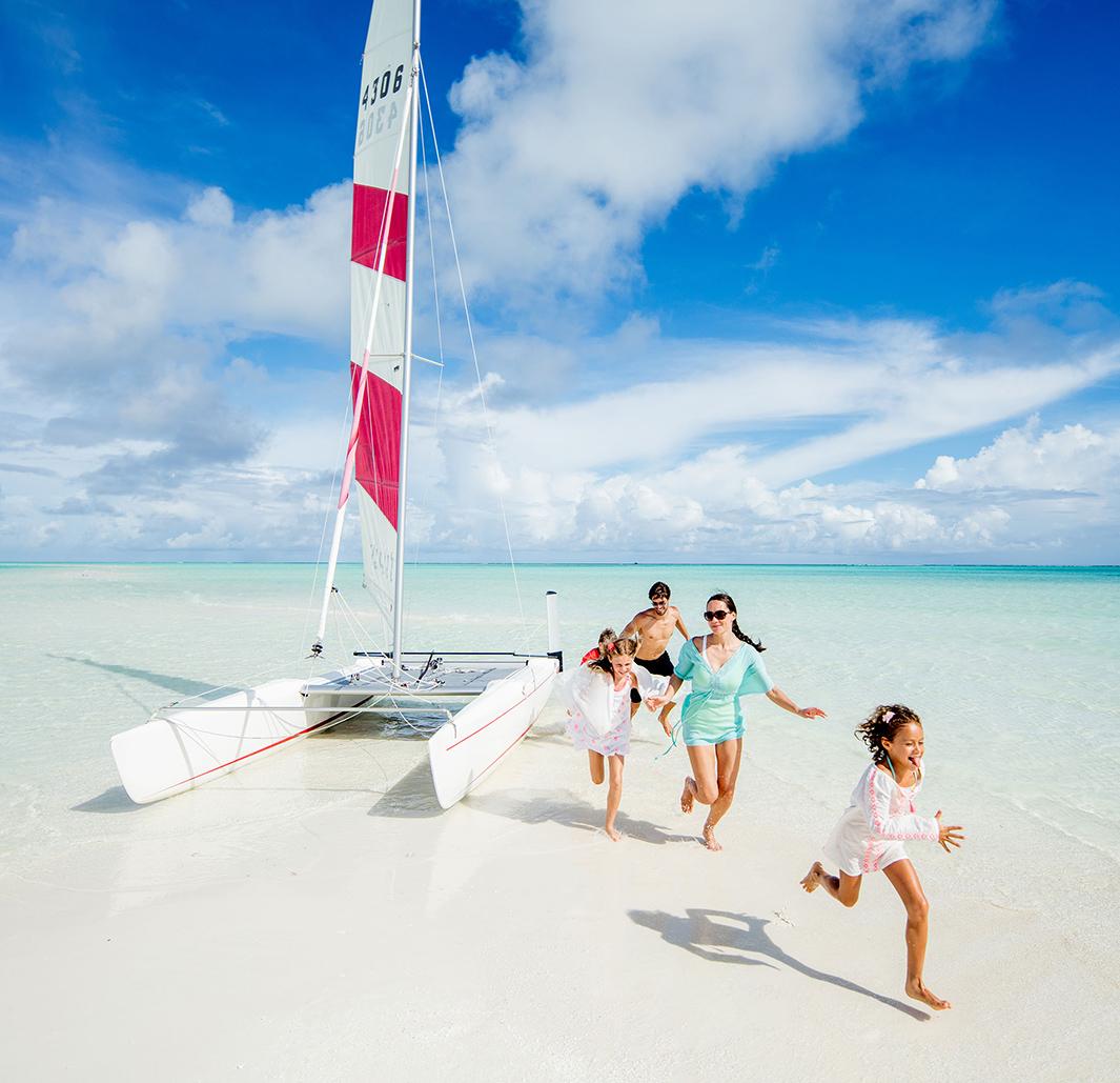 روعه  السفر الي جزر  المالديف مع الاطفال