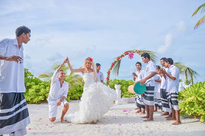 Wedding rites in the Maldives