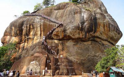 صخرة سيجيريا العملاقة الشهيرة