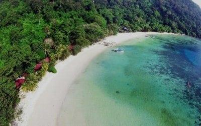 Tingol Island Malaysia