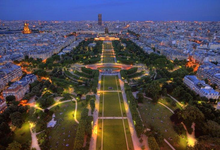 افضل الانشطه التي بحديقه شون دو مارس فى باريس فرنسا | حديقة شون دو مارس