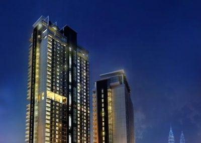 فندق شقق فريزر بلاس الفندقية فى كوالالمبور Fraser Place Hotel Kuala Lumpur