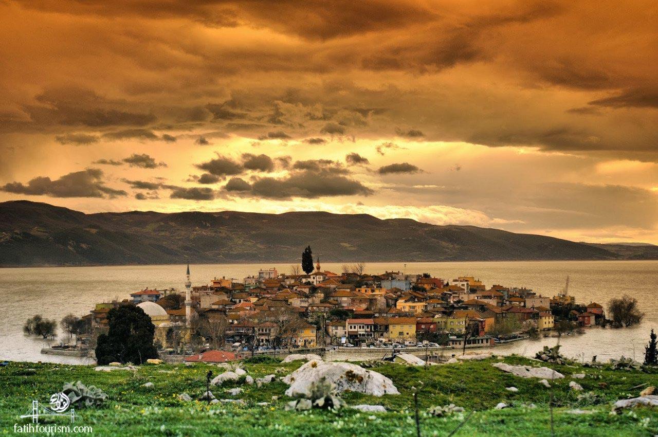 أنشطة في قرية جوليازي بورصة تركيا