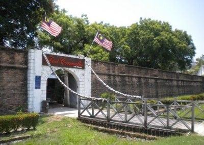 قلعة كورنواليس جزيرة بينانج ماليزيا 2