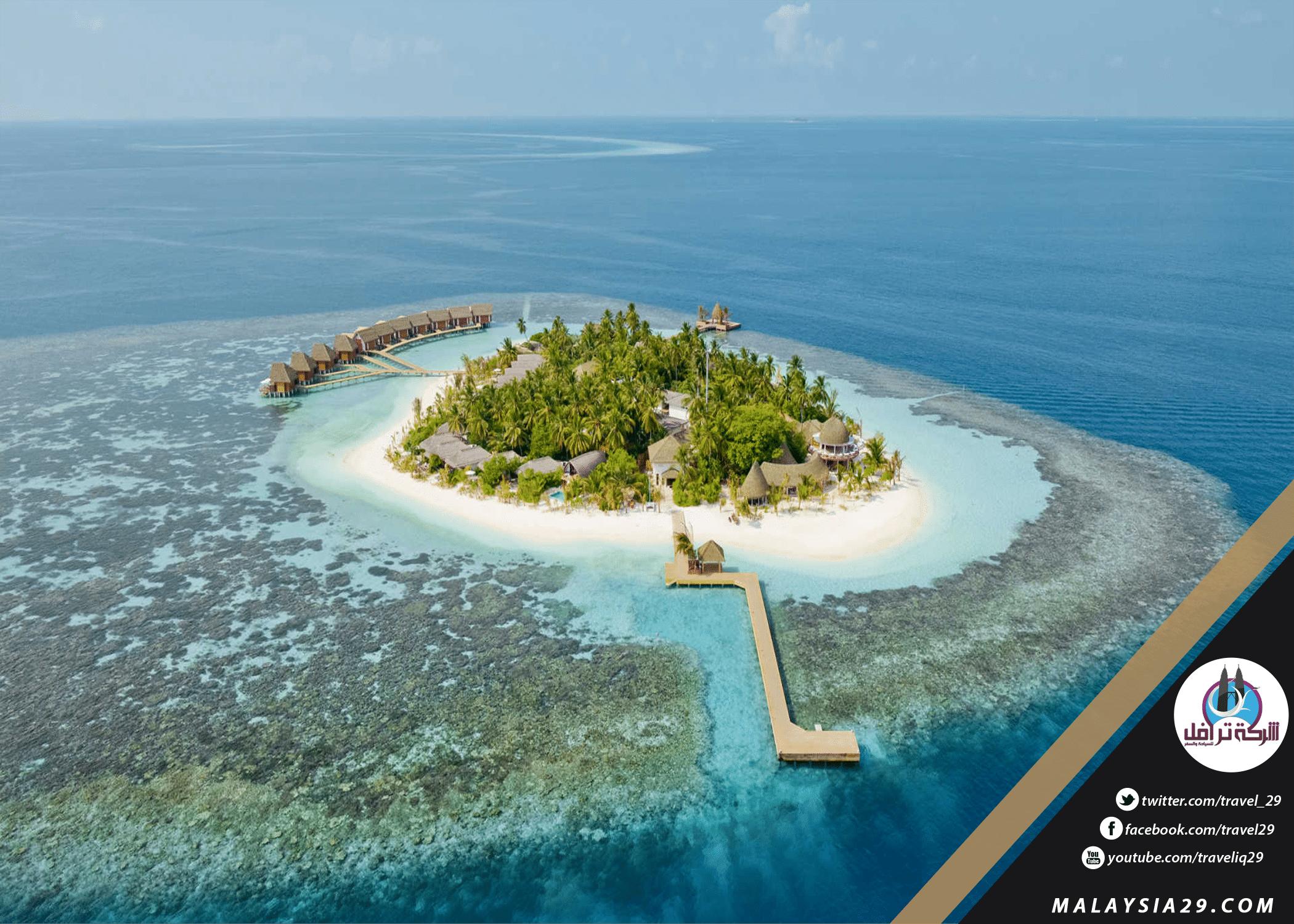 Maldives island of Cavo 2018