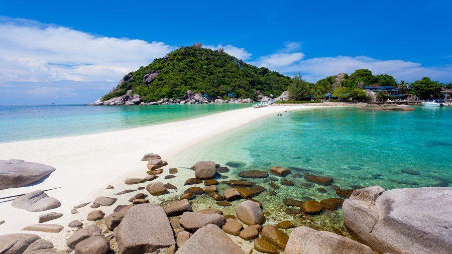 شاطئ لاماى فى جزيرة كوه ساموى