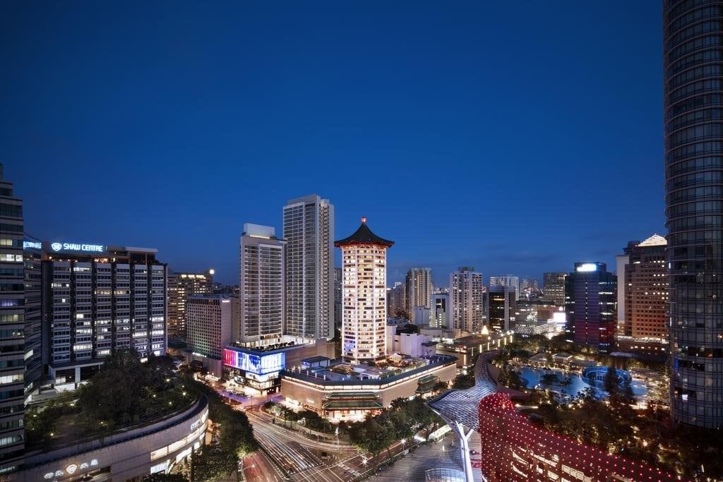 ماريوت تانغ بلازا Marriott Tang Plaza