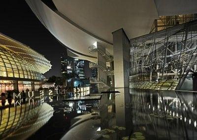 متحف علوم الفن فى سنغافورة