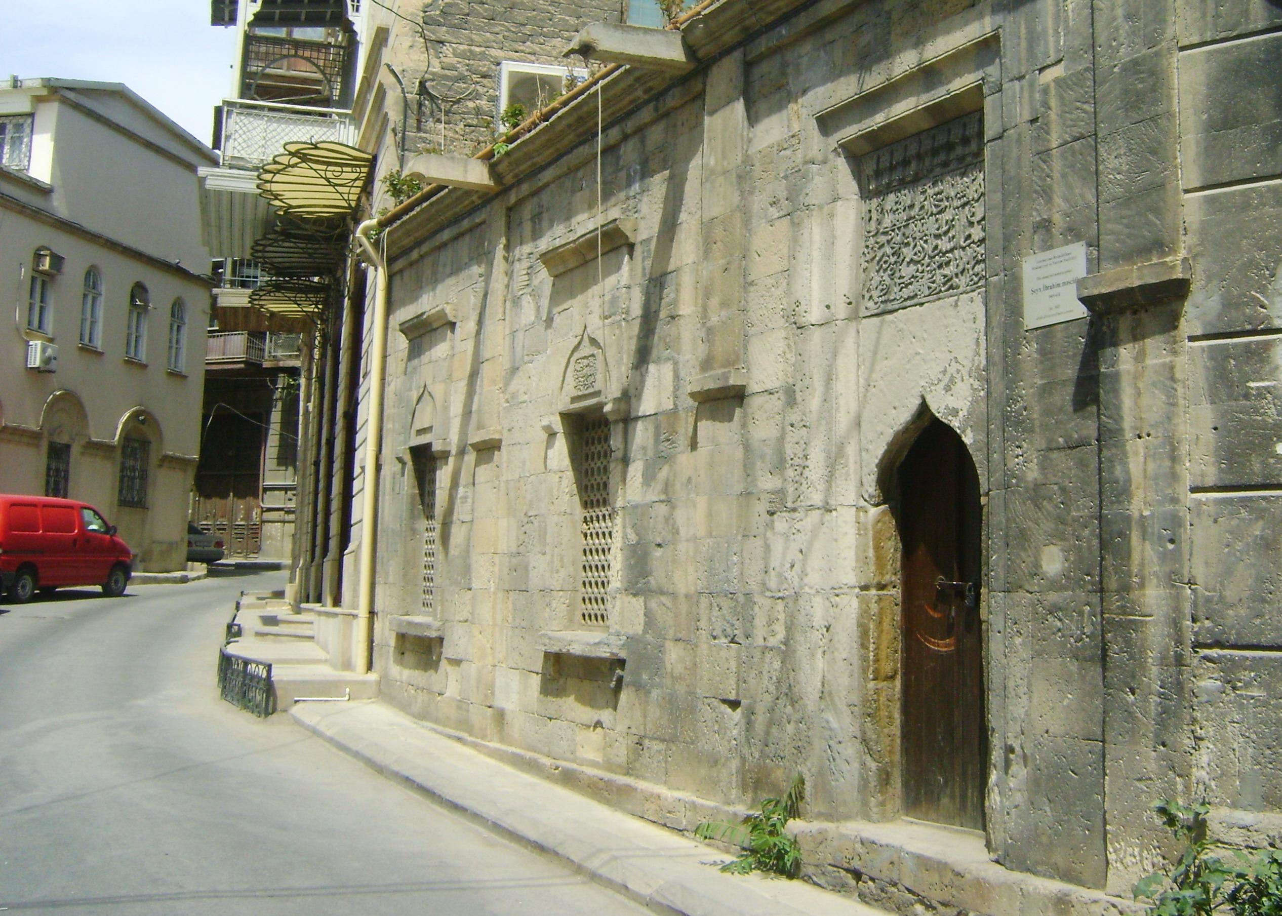 المدينة القديمة فى باكو