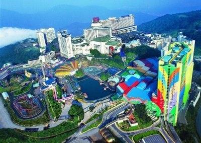 اسعار تذاكر المناطق السياحية في ماليزيا