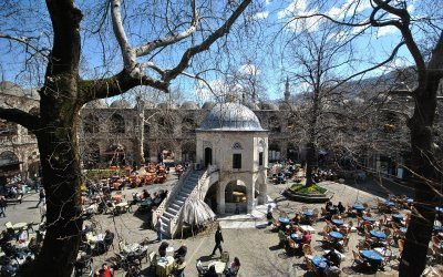 Tourism in the city of Bursa