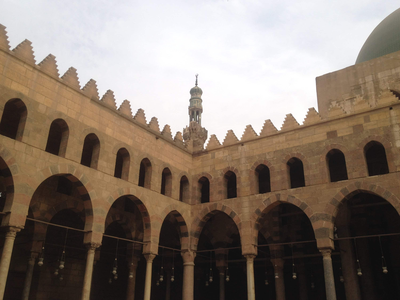 مسجد الناصر محمد قلاوون بالقلعه