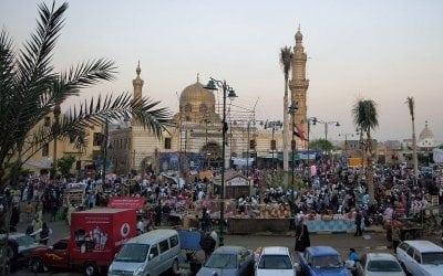 مسجد السيدة نفيسة في القاهرة