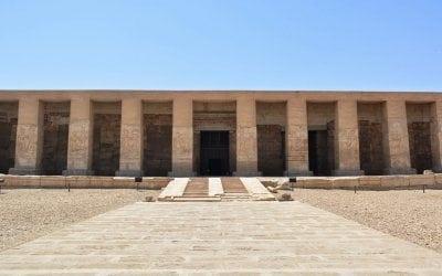 معبد ابيدوس في سوهاج
