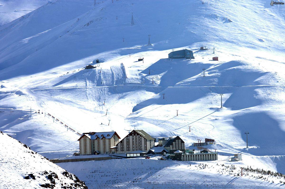 منتجعات تركيا للتزلج