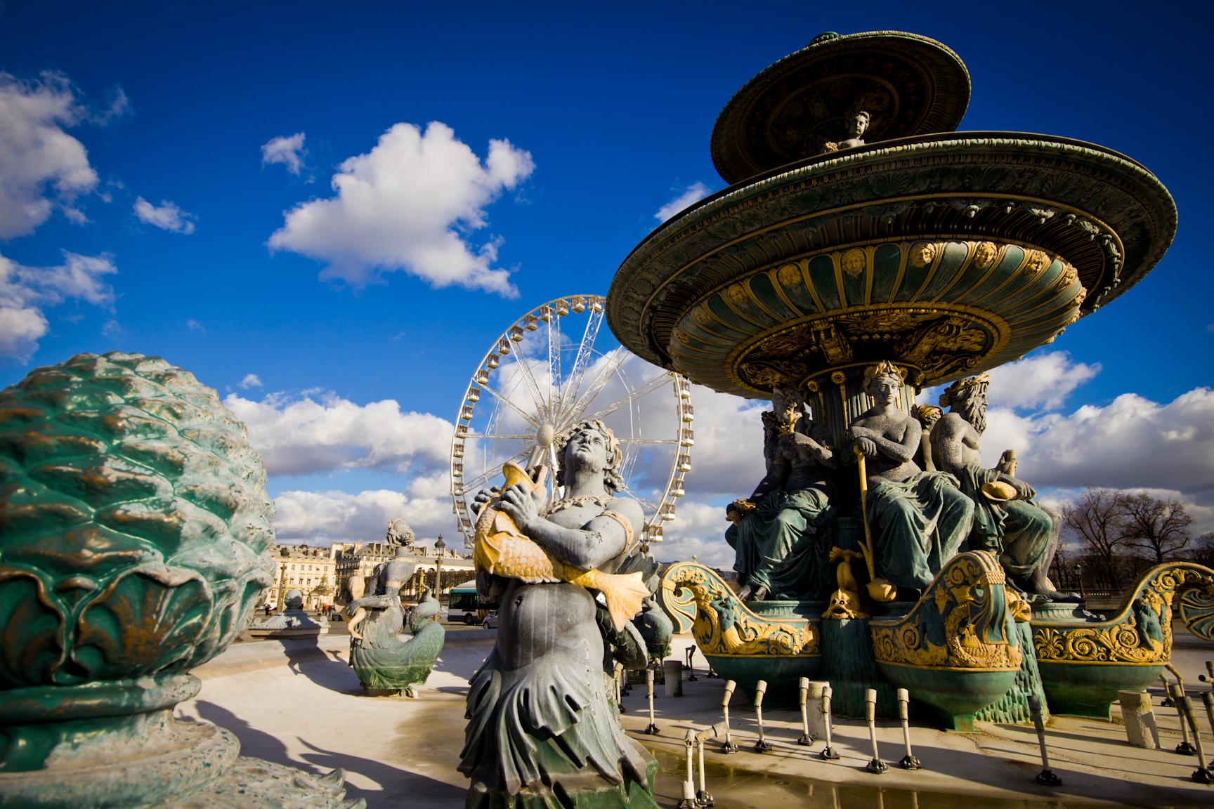 تعرف على ميدان الكونكورد في باريس