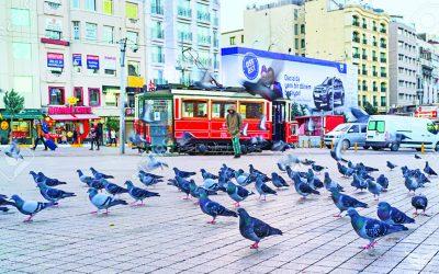 Площадь Таксим в Стамбуле