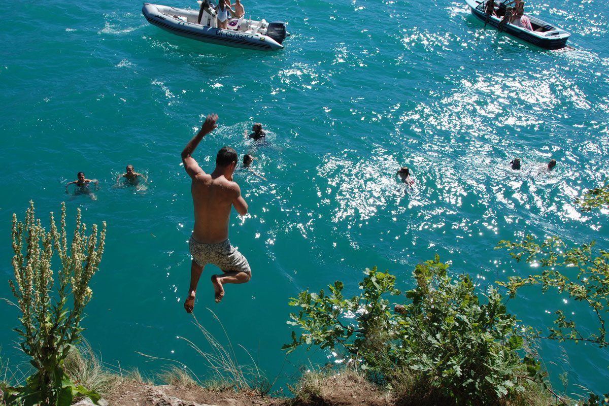 The most important tourist places in the city of Annecy France