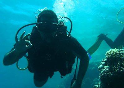 جولة تحت الماء