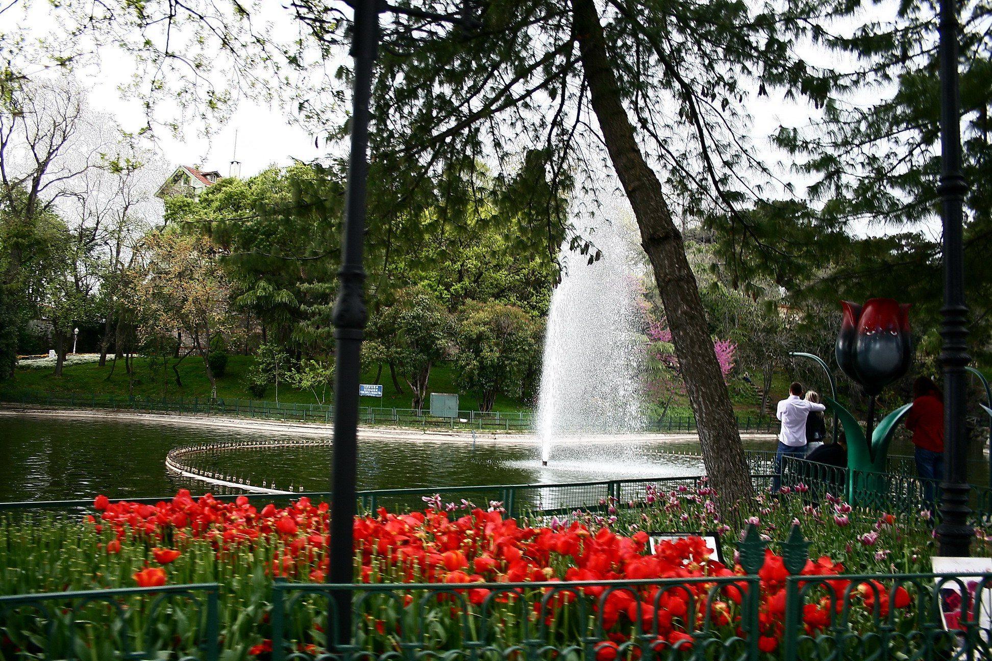 أنشطة في حديقة يلدز اسطنبول تركيا