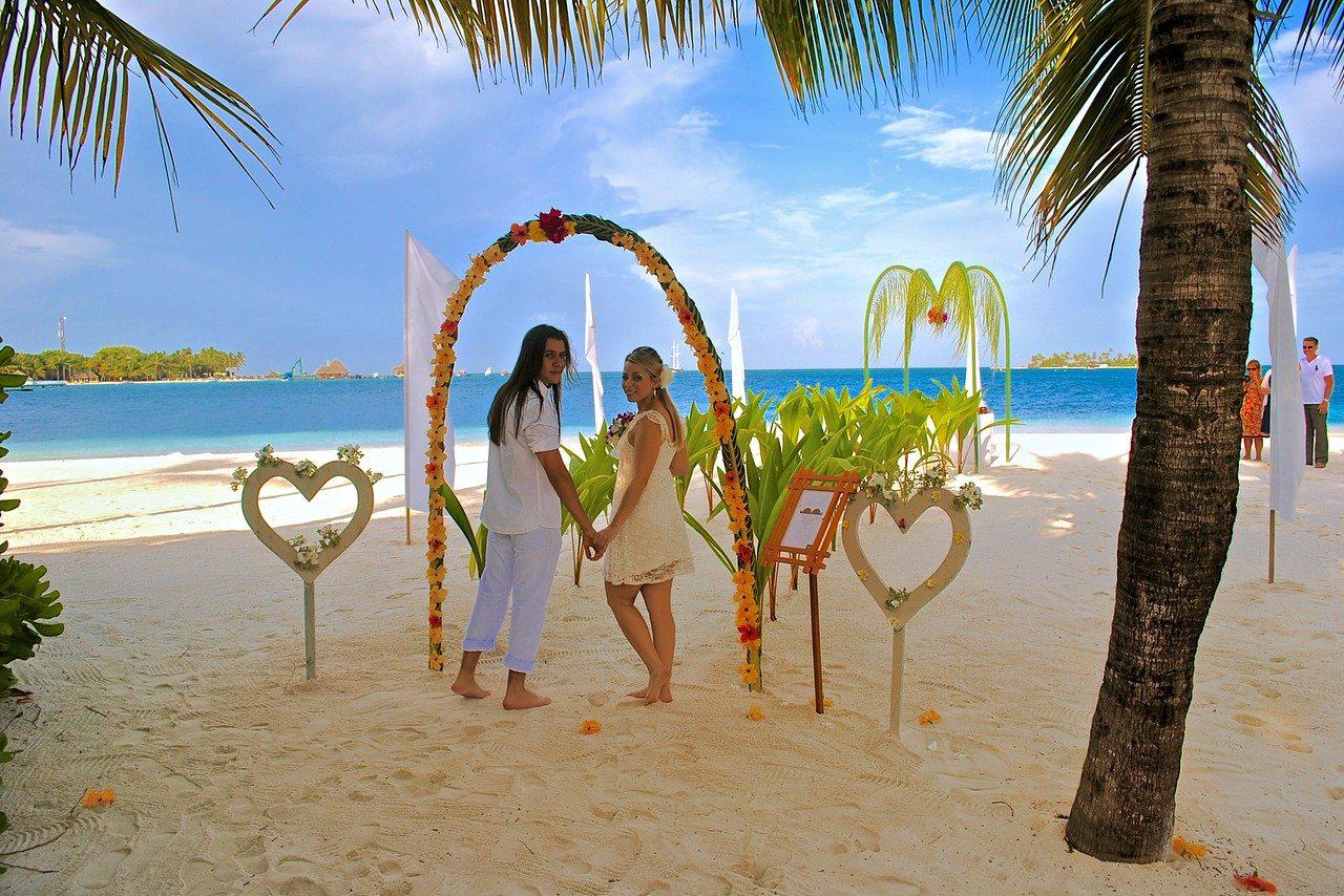 طقوس الزفاف في جزر المالديف