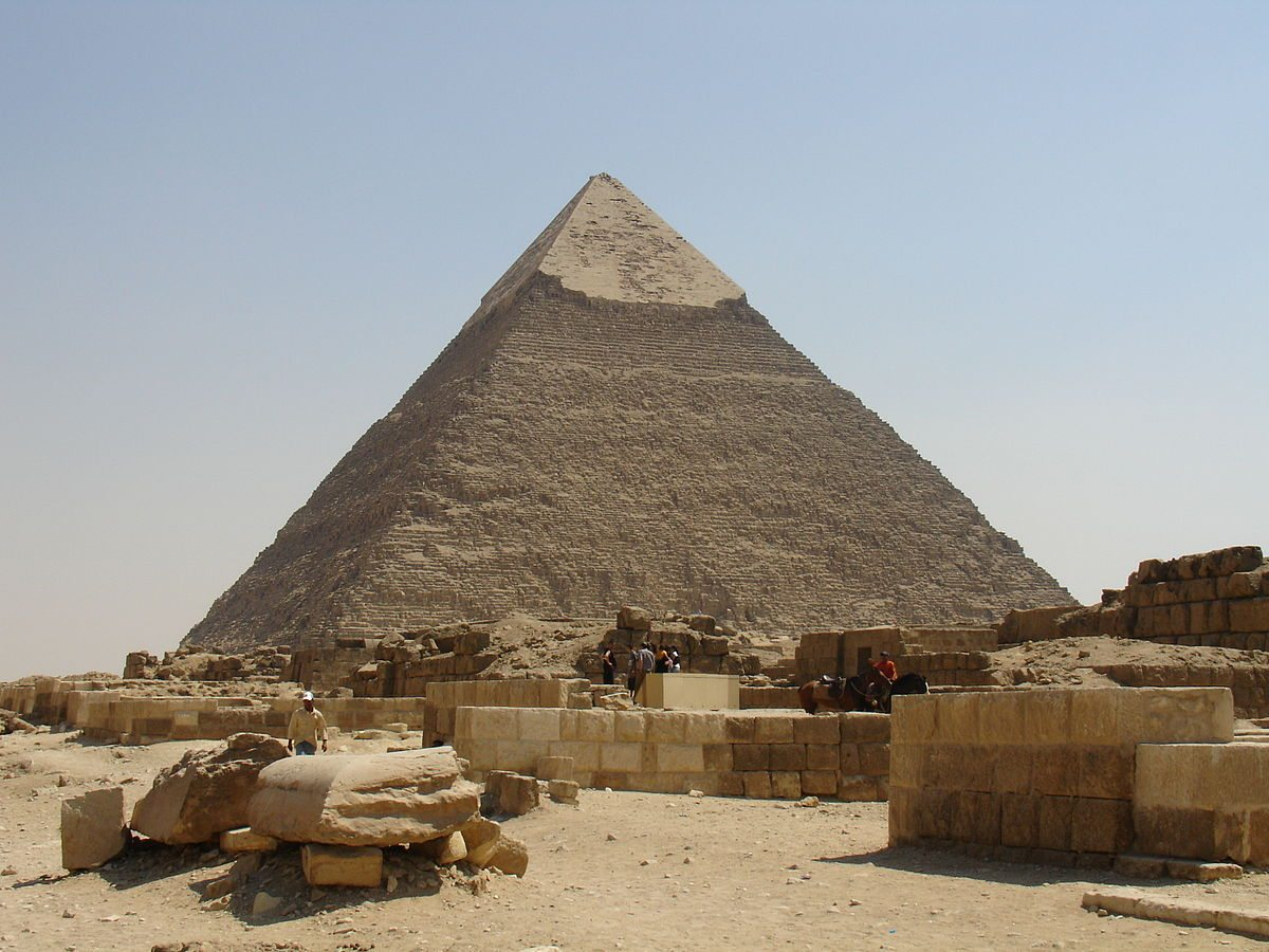 The Great Pyramid Khufu Egypt
