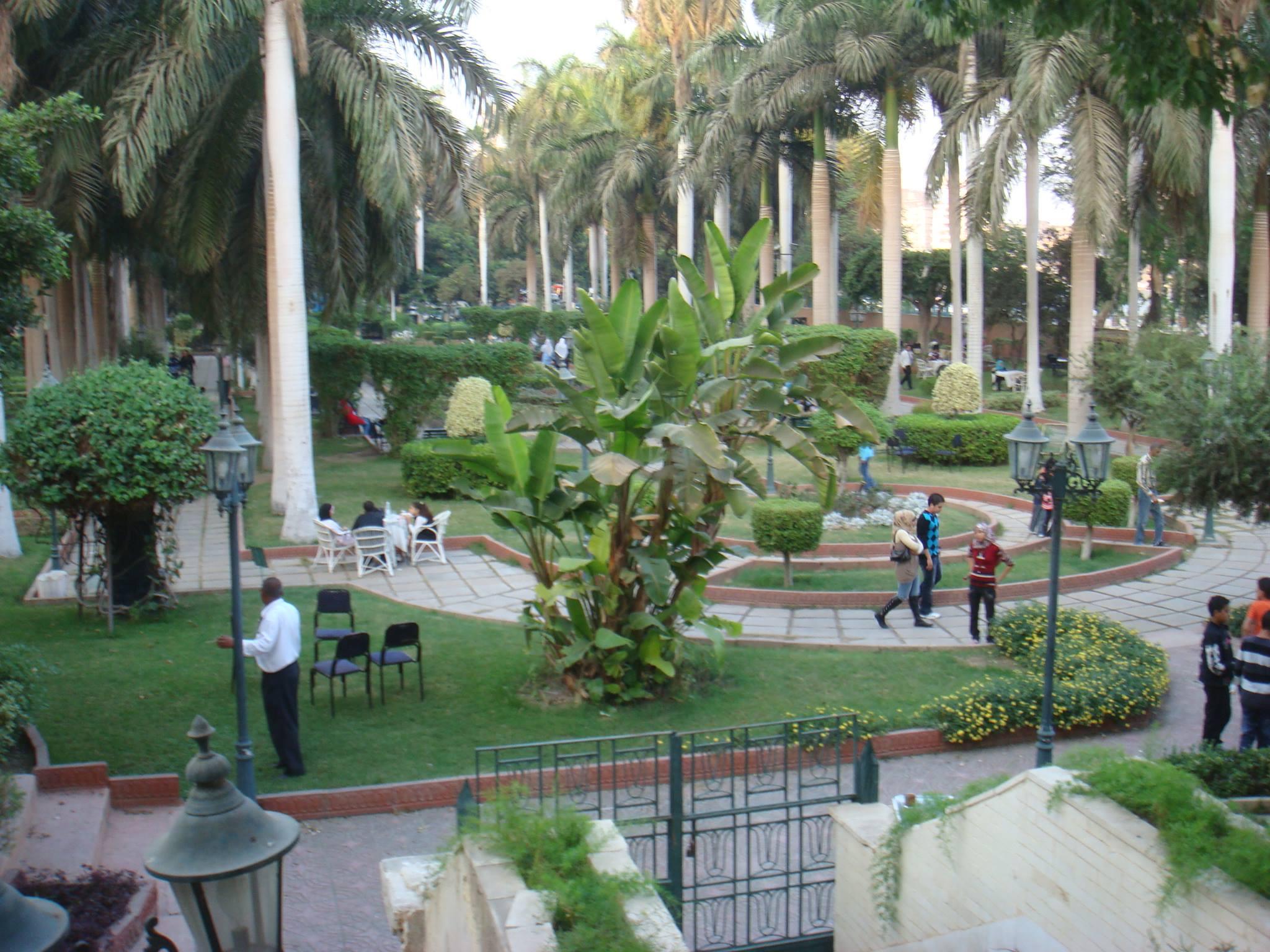 حديقه الاندلس مصر