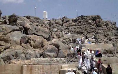 Jelajah di Gunung Arafat